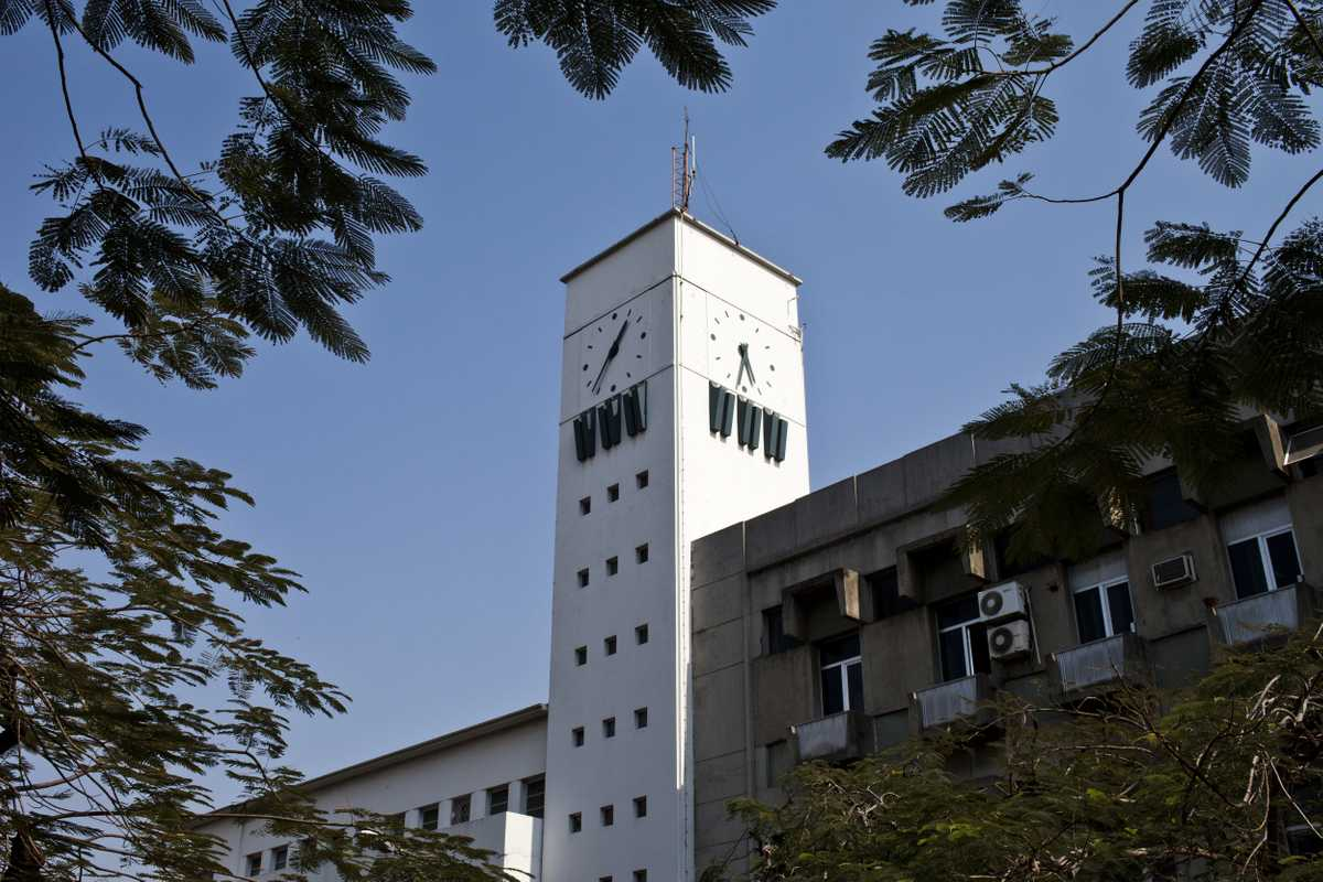 Radio Mozambique clock tower