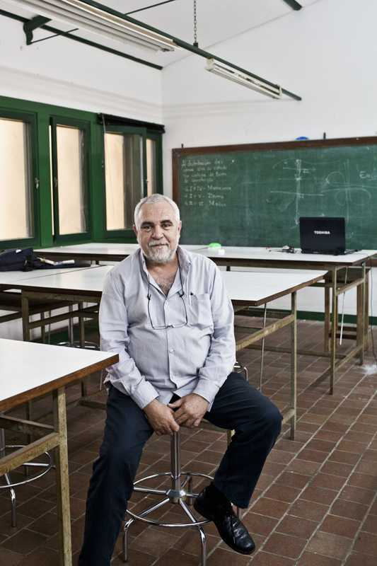 Luis Lage, professor of architecture