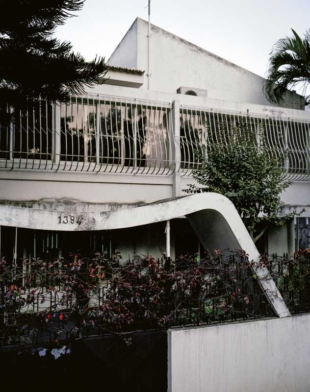 1950s building designed by Pancho Guedes