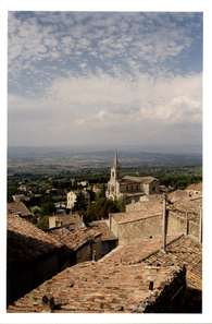 Bonnieux in the Luberon valley