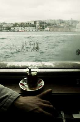 No. 17: Tea on the Istanbul ferry