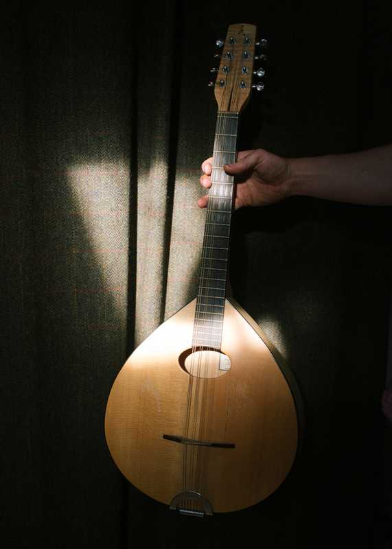 Mandolin made at Comielaw