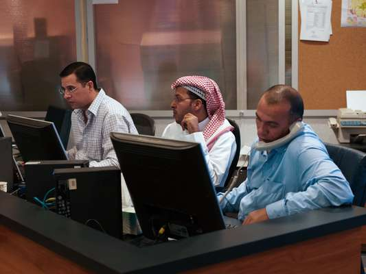 Editors at Al Jazeera Arabic