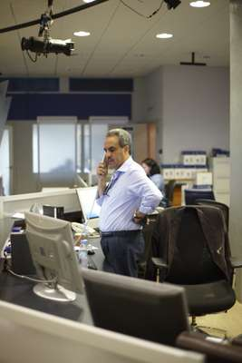 News anchor Mohamed Krichen, Al Jazeera Arabic