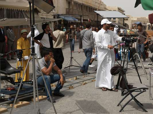 Filming for a children's comedy to be broadcast over Ramadan