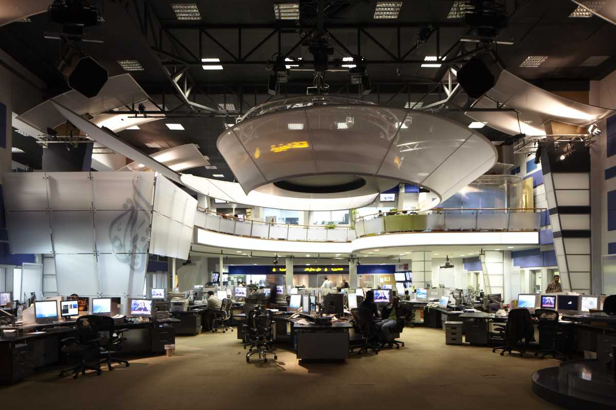 Arabic newsroom