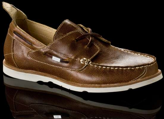 The Vael Project moccasin/desckshoe hybrid
