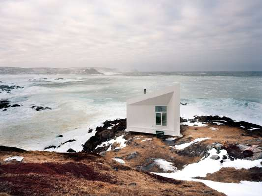 Squish Studio, one of four artists' residencies that form Fogo Island Arts Corporation