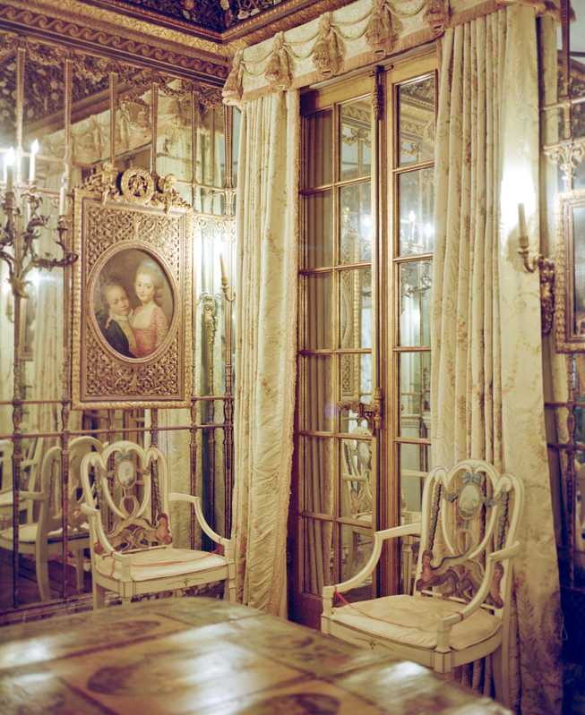 Venetian room in the embassy building