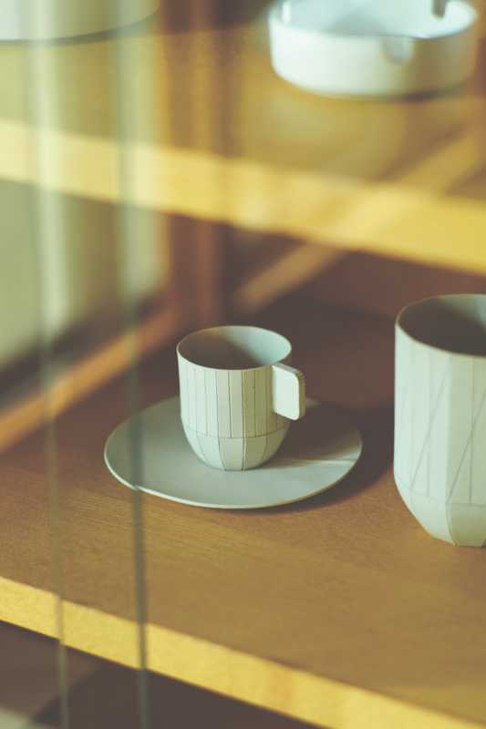 Prototype cup and saucer