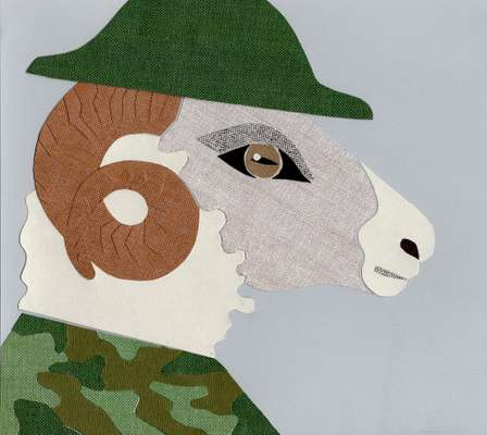 Wooly thinking: *Monocle* reports on the sheepish war hero