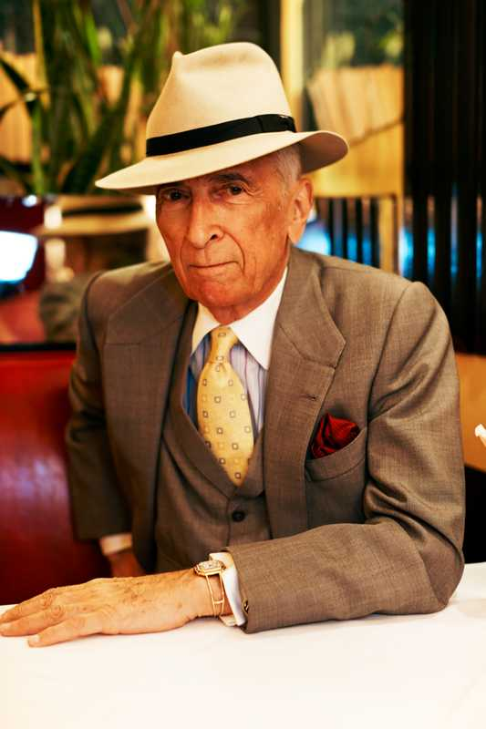 Gay Talese's favoured table at Le Veau d'Or
