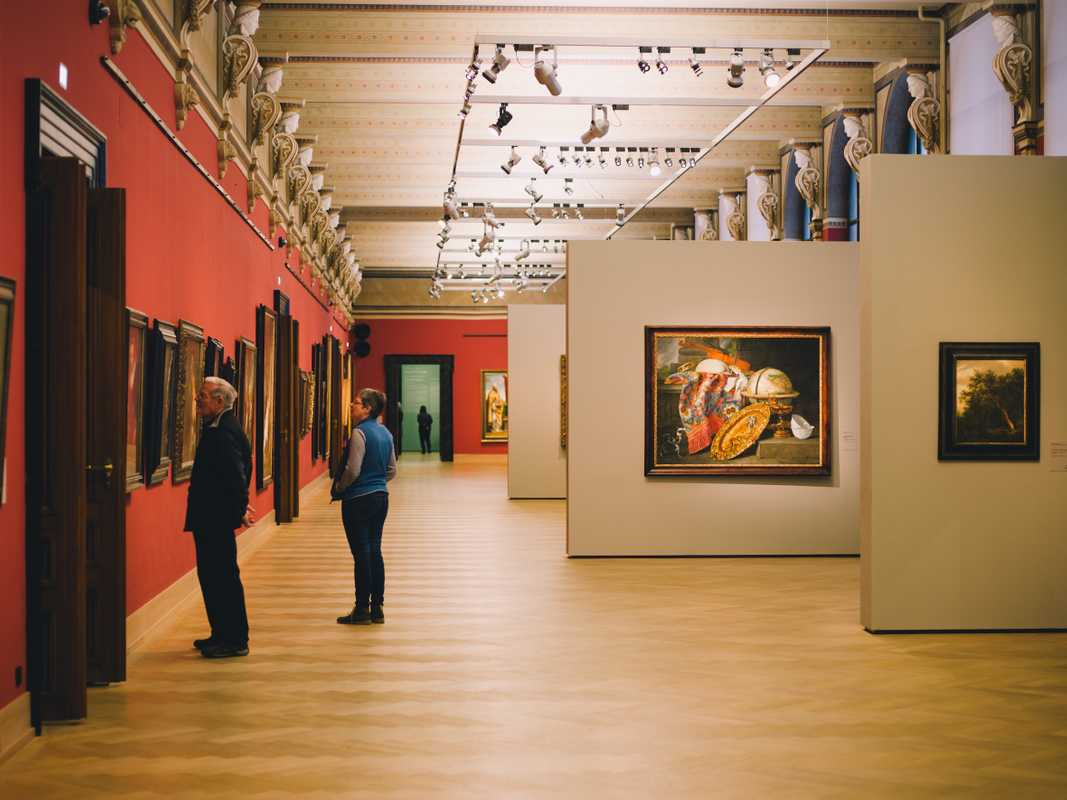 The academy's picture gallery