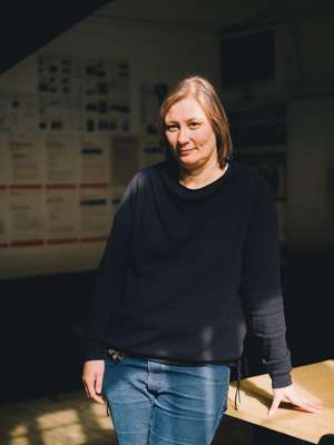 Professor and video artist Dorit Magreiter