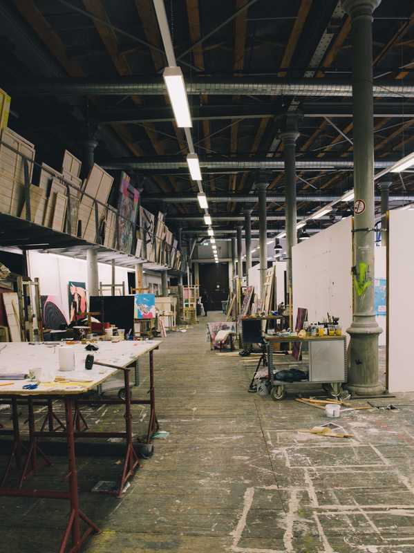 Studio in the Semperdepot