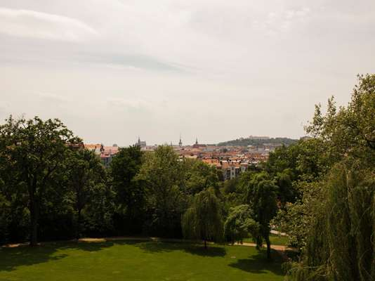 View from Vila Tugendhat