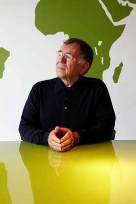 Jan Gehl in his Copenhagen HQ