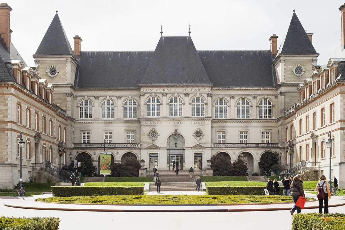 The look of the Maison Internationale was inspired  by Fontainebleau Castle