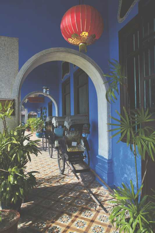 Terrace at Blue Mansion