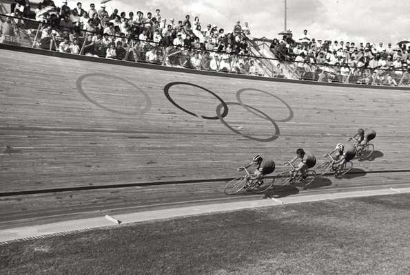 Track racing at the 1968 Olympics in Mexico City