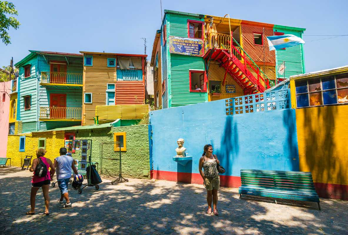 Exploring the La Boca neighbourhood