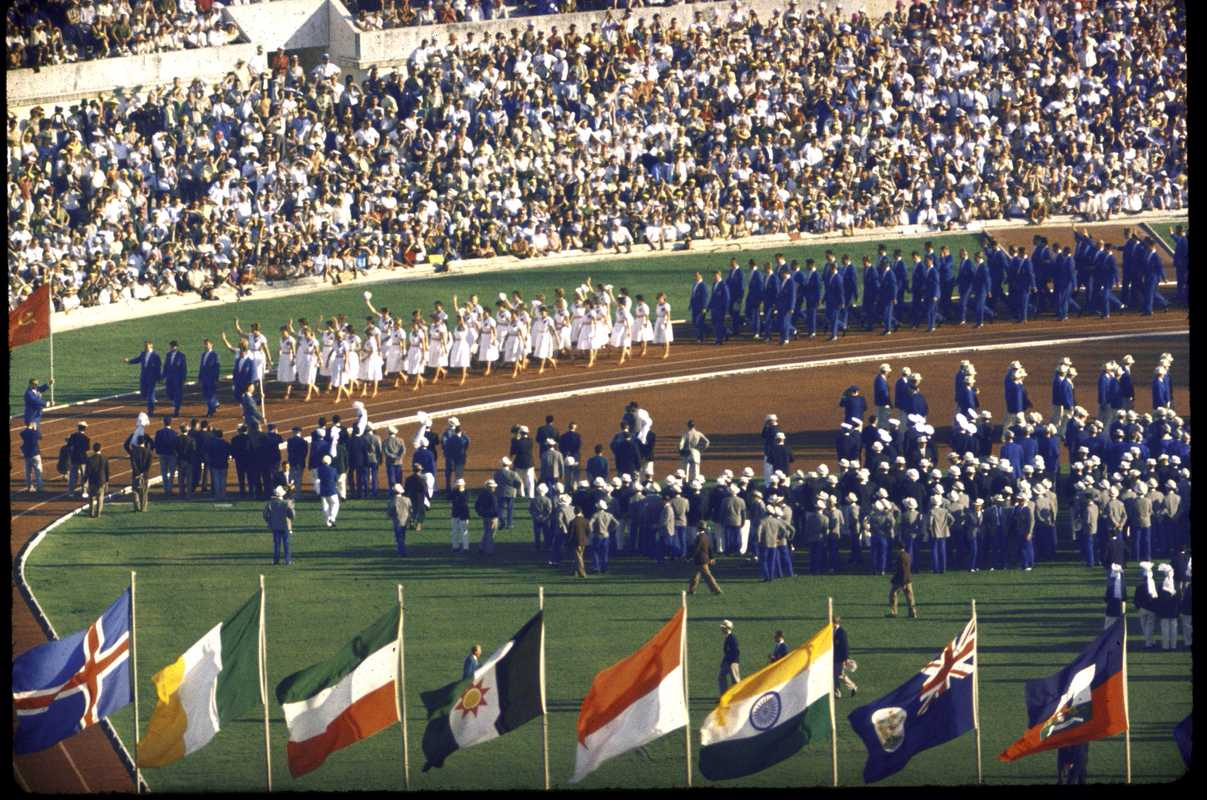 Opening of the Olympics in 1960
