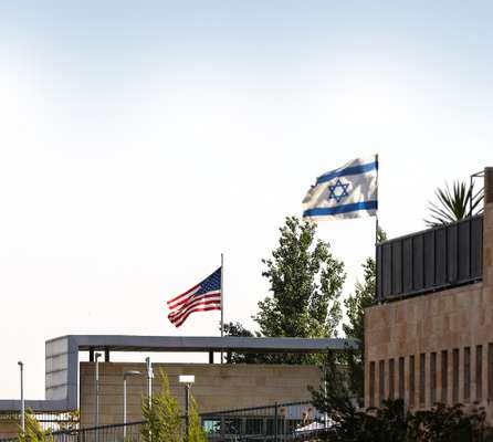 The US embassy in Jerusalem