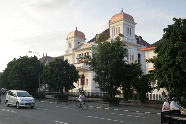 Dutch colonial-era architecture