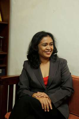 Yunastuti Daud from Yogyakarta Chamber of Commerce
