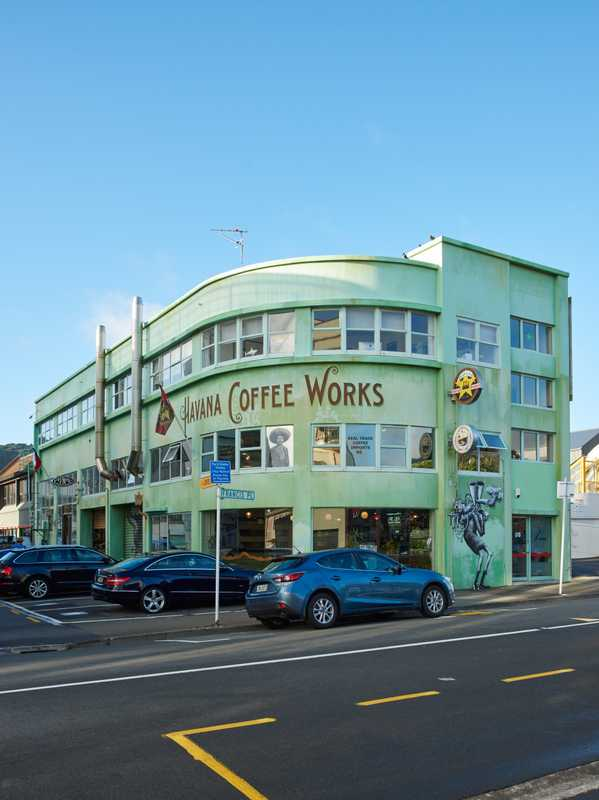 Havana Coffee Works' façade