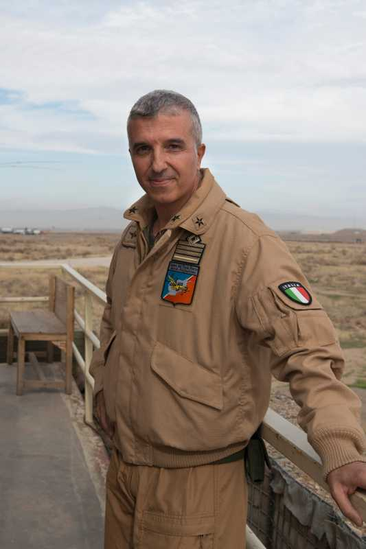 Senior air traffic controller, Colonel Raffaele La Montagna