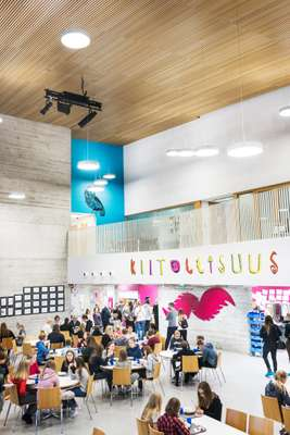 Saunalahti school interior