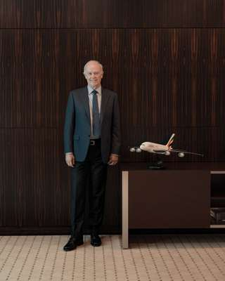 Emirates president Sir Tim Clark