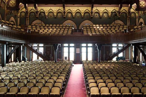 Gaston Hall auditorium
