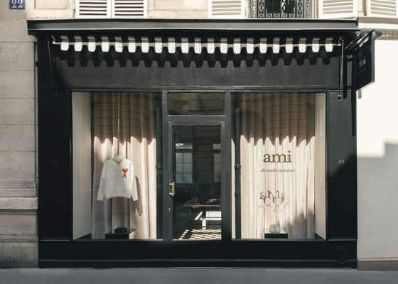 The women's shop is in Saint-Germain-des-Prés