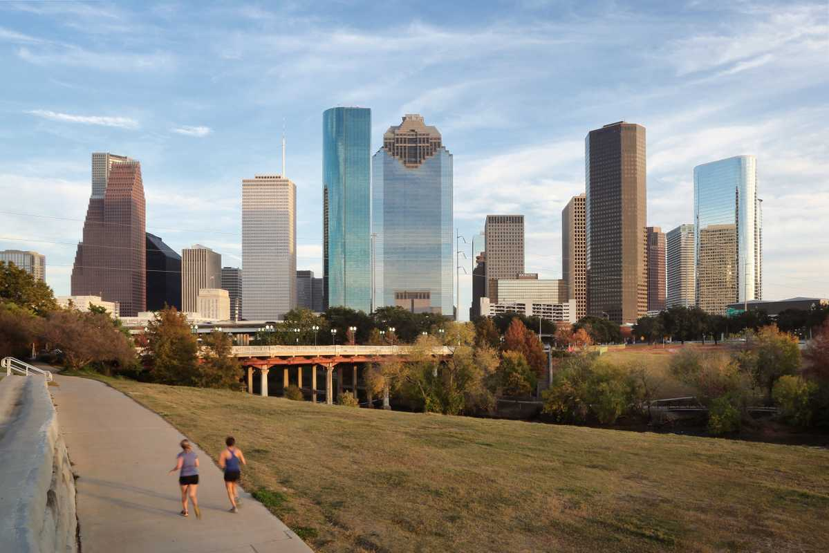 Houston's downtown