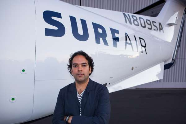 Sudhin Shahani, Surf Air