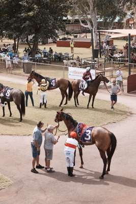 Saddling up the thoroughbreds at  the Broome Turf Club – place your bets