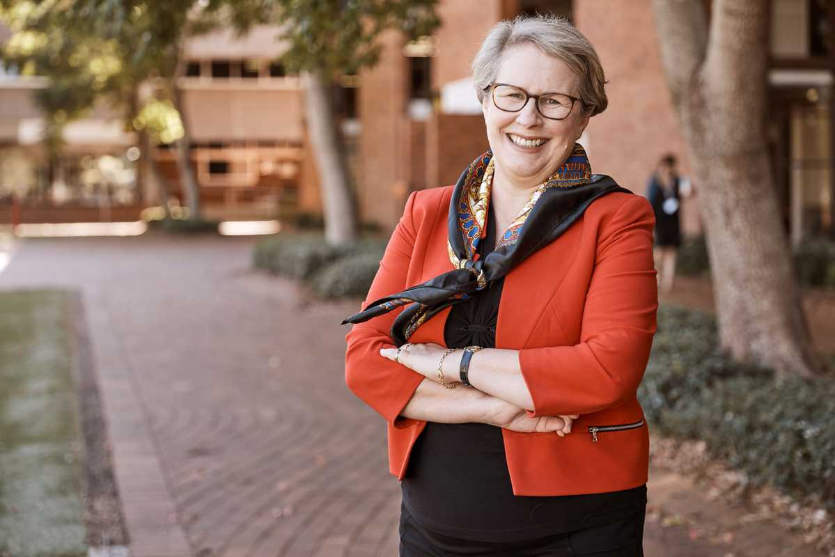 Geraldine Mackenzie, vice-chancellor of the University  of Southern Queensland