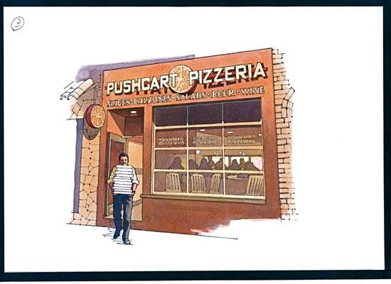 Neighbourhood pizzeria - Pushcart Pizza