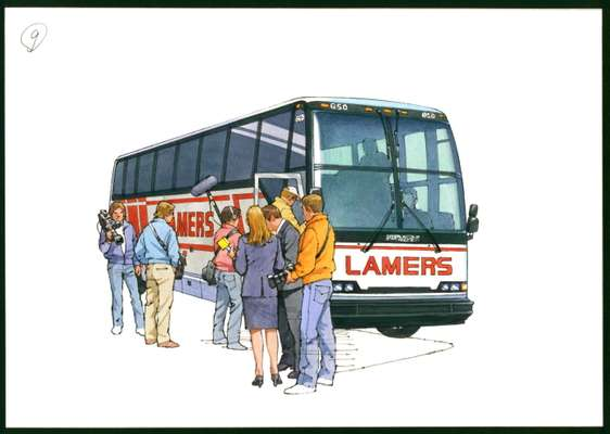 Bus charter - Lamers Bus Lines