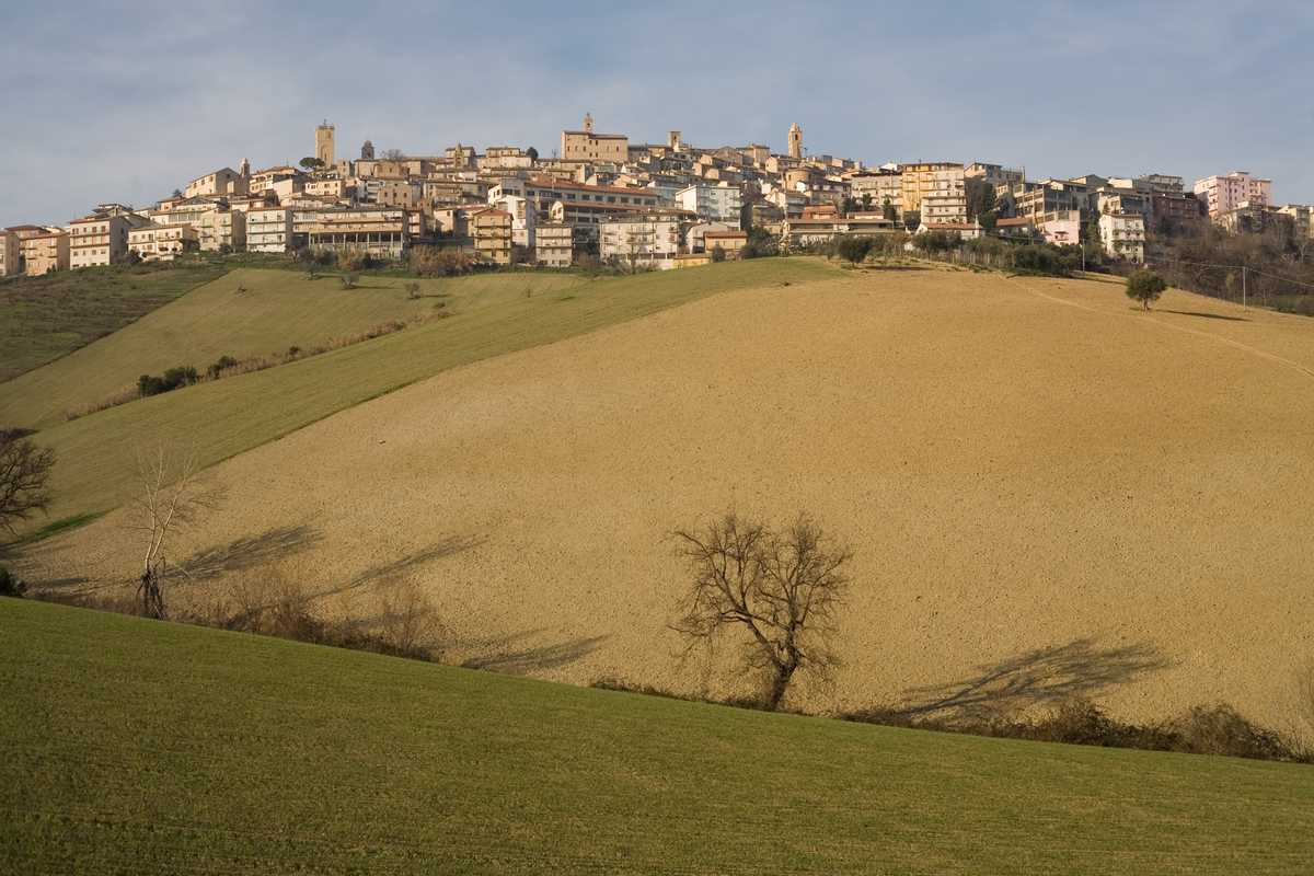 View of Montegranaro