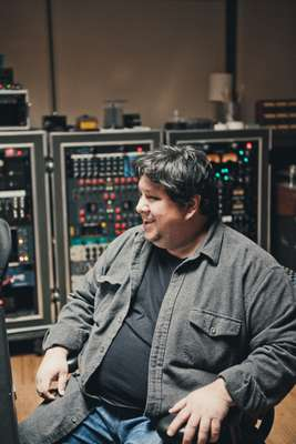 Robert Carranza, Brushfire's  sound engineer