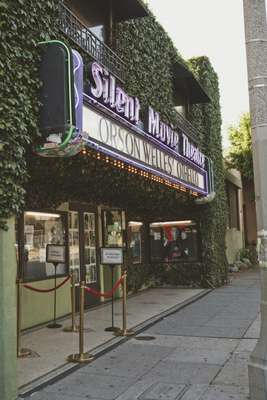 Exterior of Cinefamily