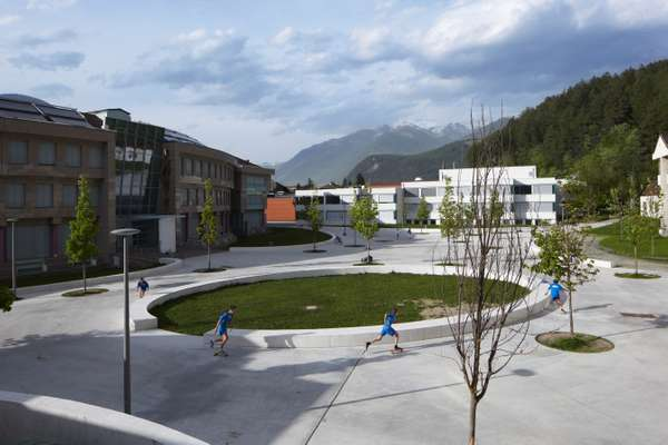 School playground in Brunico