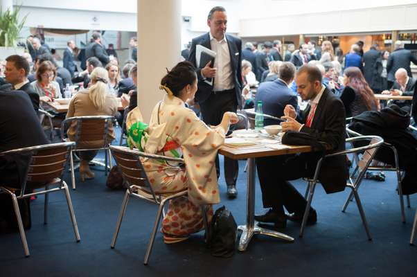 People from all over the world  attend Mipim