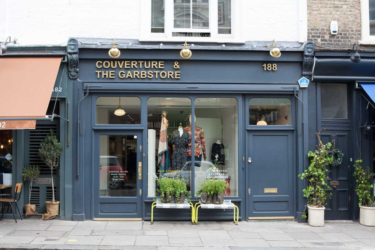 Couverture and the Garbstore, London