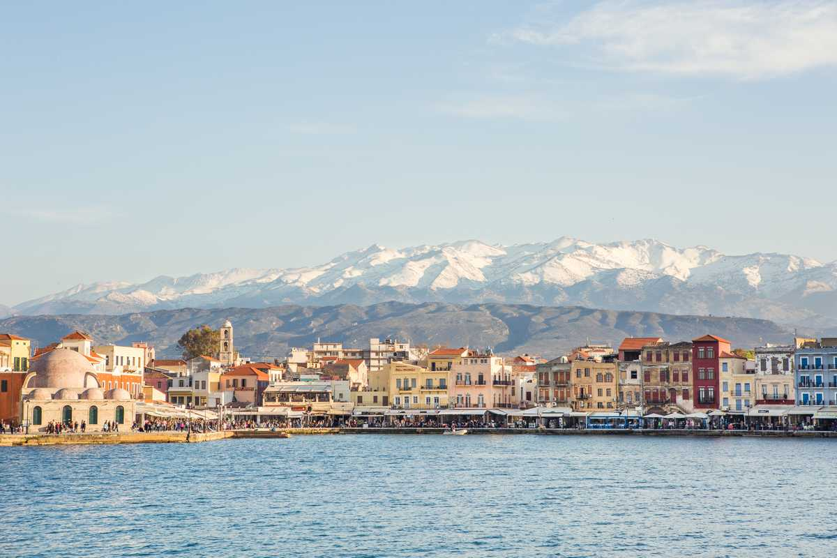 Port of Chania, Crete