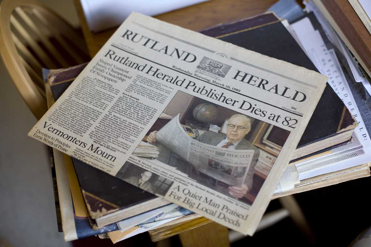The 'Herald' celebrates the life of its first Robert Mitchell