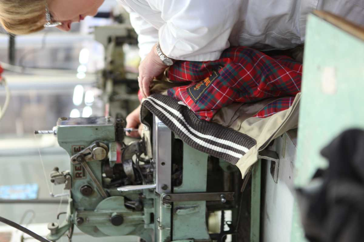 Baracuta - Production in Milan